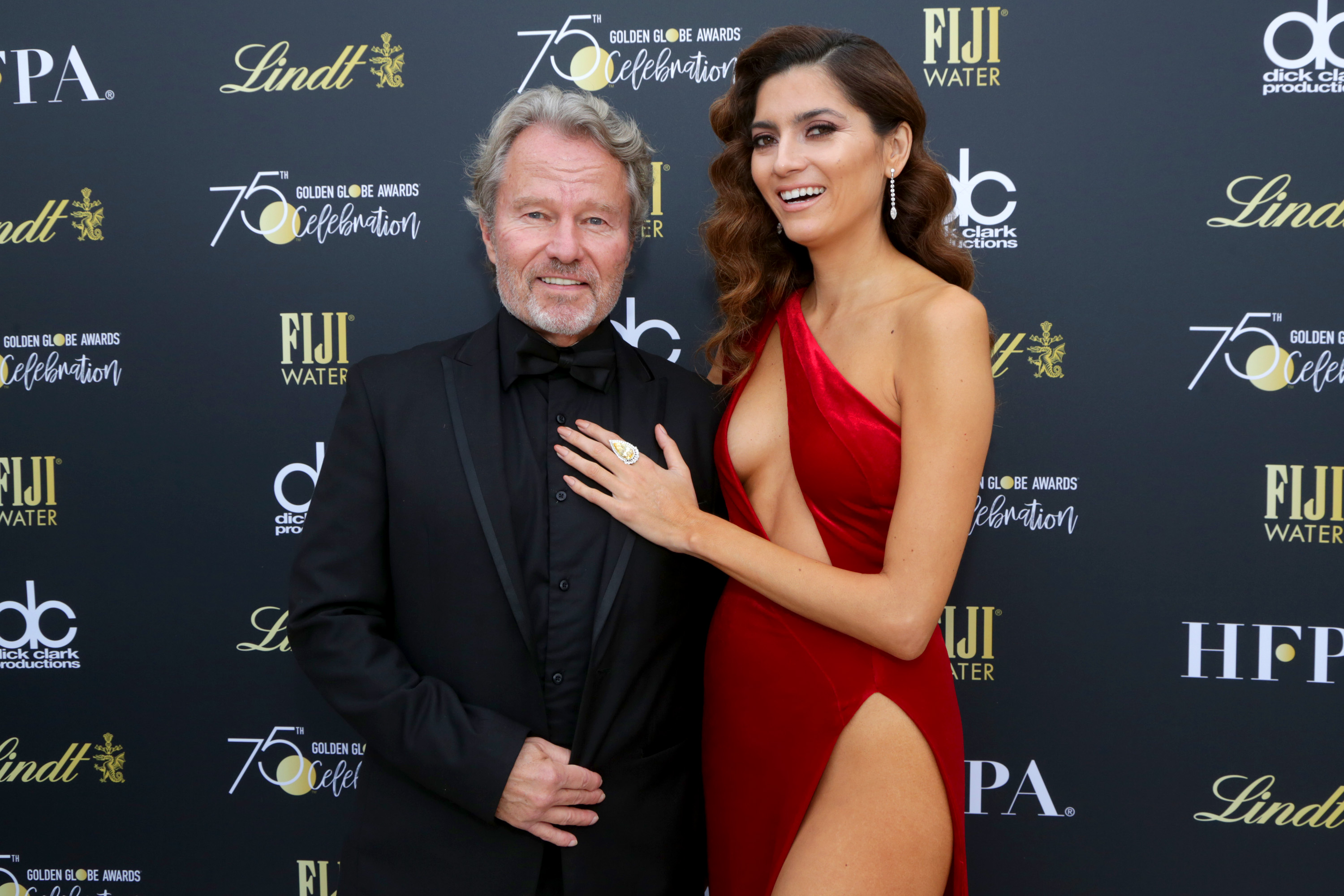 Actress Blanca Blanco Sparks Big Debate After Wearing Red to Golden Globes