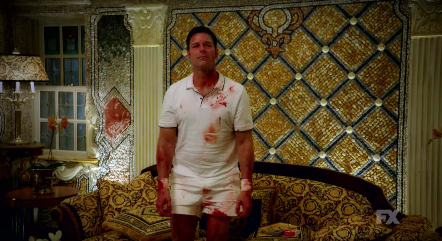 Ricky Martin Is Versace's Heartbroken, Blood-Spattered Lover in Trailer for 'American Crime Story' Season 2