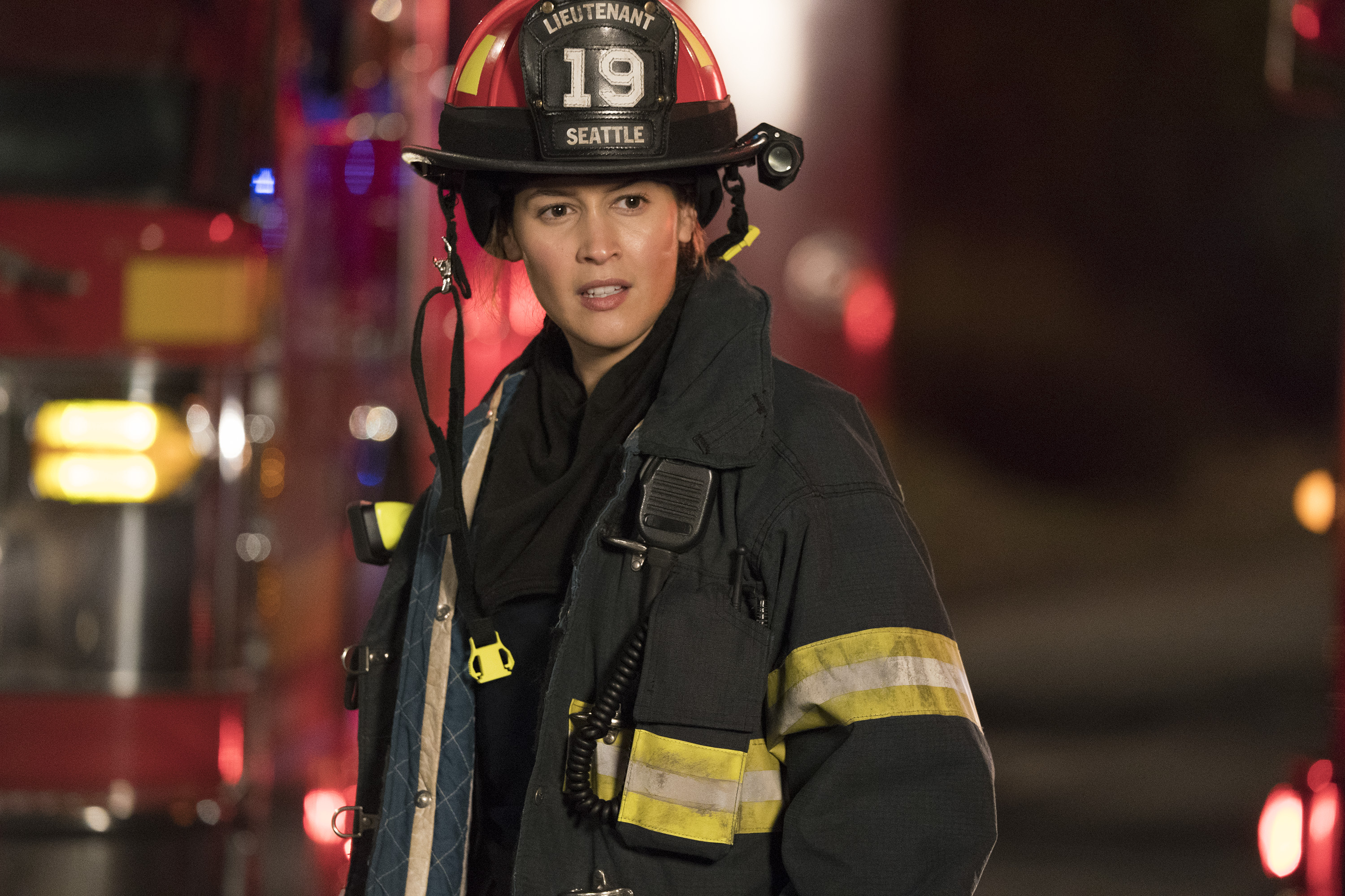 TRAILER: 'Grey's Anatomy' Spin-Off 'Station 19' Stars Jaina Lee Ortiz as a Firefighter