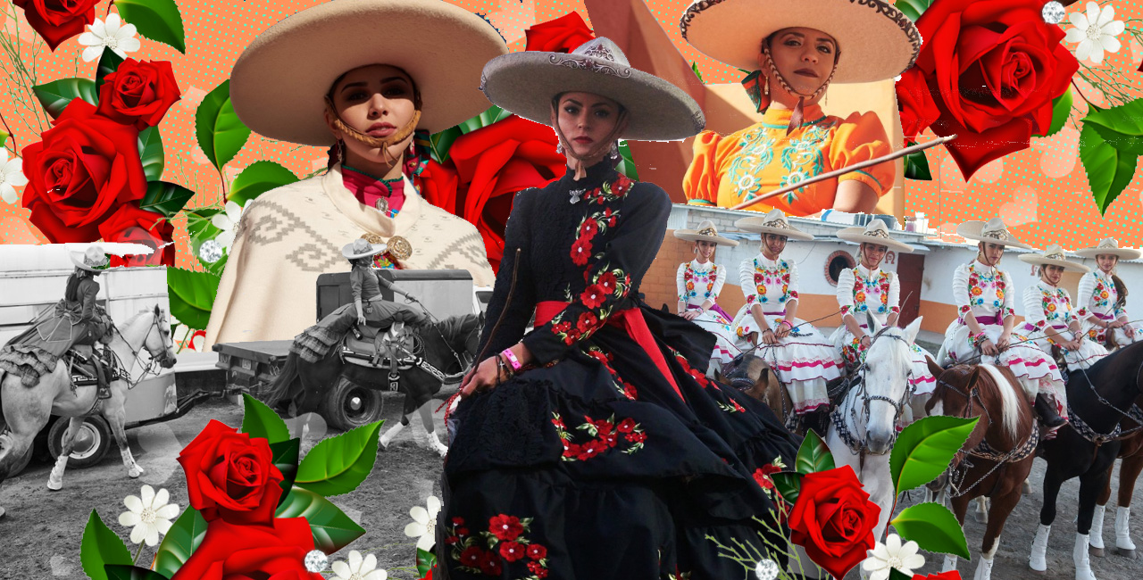 This Beautiful 'Vogue' Spread Dives Into the World of Escaramuza, an All-Female Horseback Riding Sport