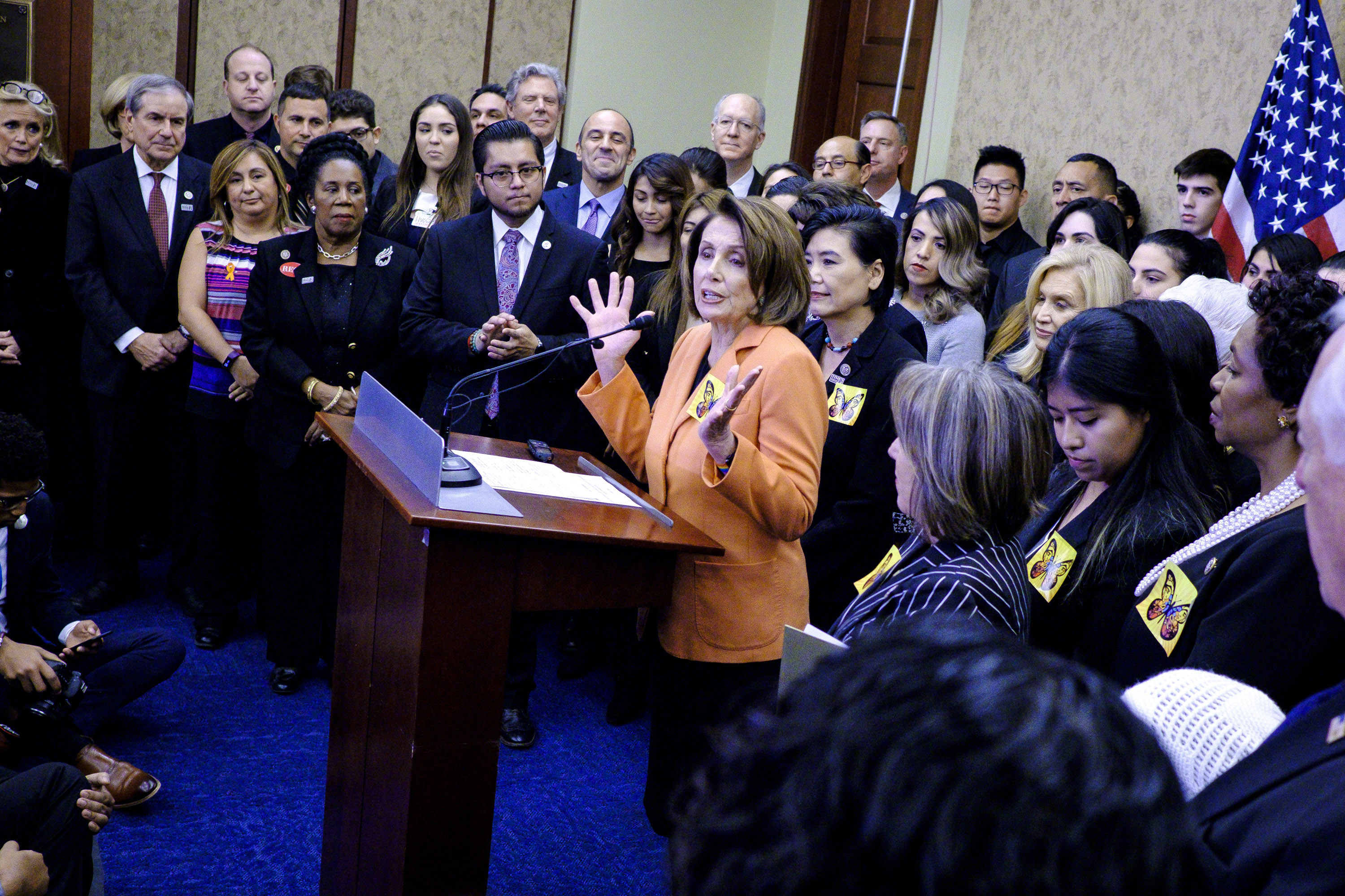 Here Are 7 DREAMer Stories Nancy Pelosi Shared During Her 8-Hour House Speech