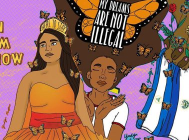 Meet Yocelyn Riojas, the Artist Behind the TPS & DACA Protest Signs You've Been Seeing Everywhere