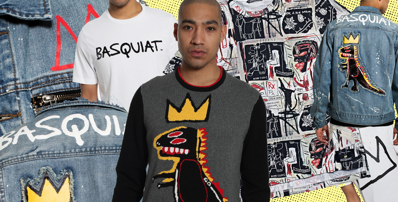 This Sean John Capsule Collection Celebrates Basquiat on the 30th Anniversary of His Death