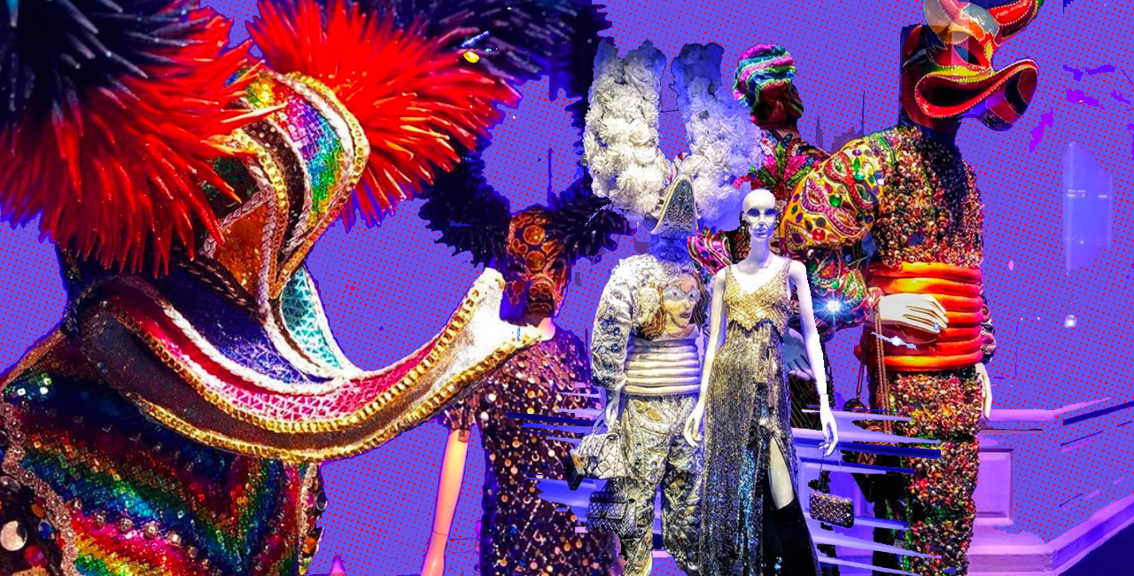 This Saks Fifth Avenue Window Display Is a Colorful Tribute to Dominican Carnaval