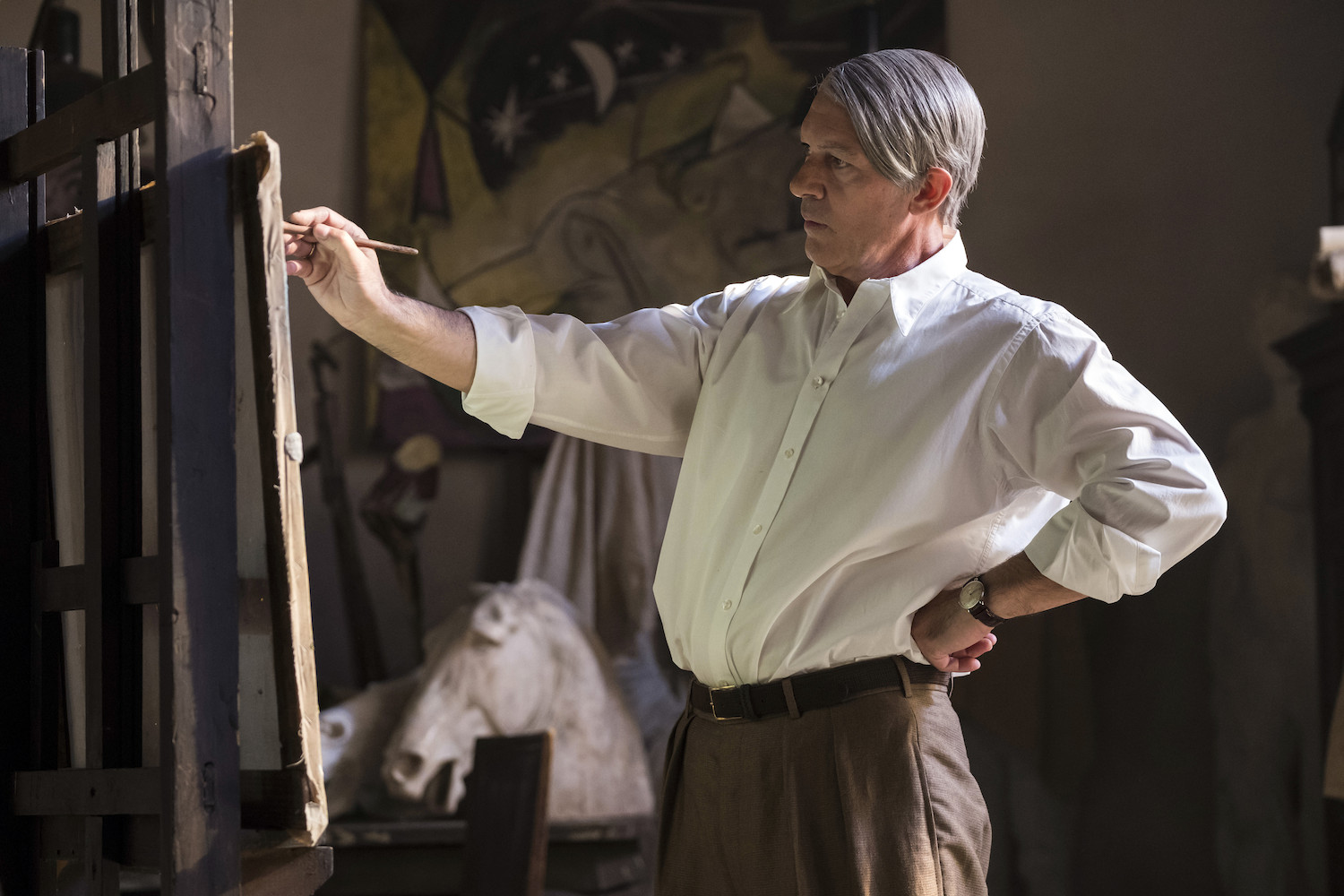 """Antonio Banderas on Playing Picasso: """"I Was Really Afraid of Playing Him"""""""