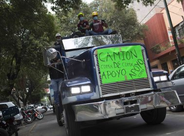 The Caravana de Los Olvidados Reminds Us That People Still Need Help 7 Months After Mexico Earthquakes