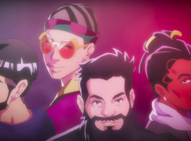 """Bad Bunny, Anuel AA and Future Are Anime Characters in Spiff TV's """"Thinkin"""" Video"""