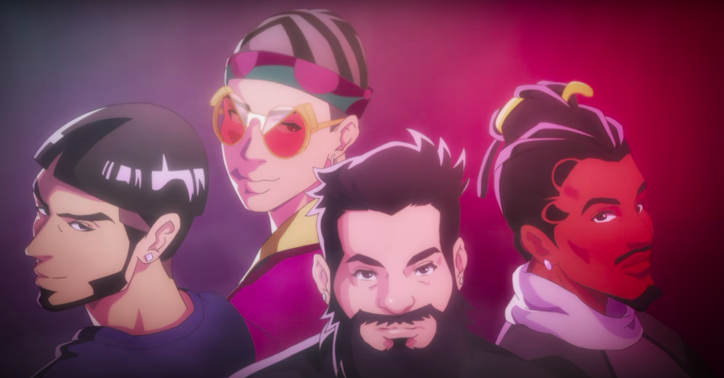 "Bad Bunny, Anuel AA and Future Are Anime Characters in Spiff TV's ""Thinkin"" Video"