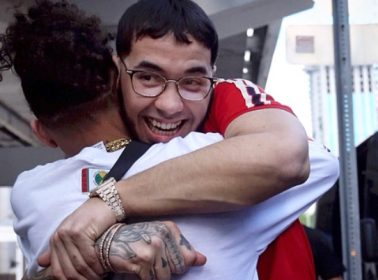 Ozuna Shares First Photo of Anuel AA Since His Relocation to Halfway House