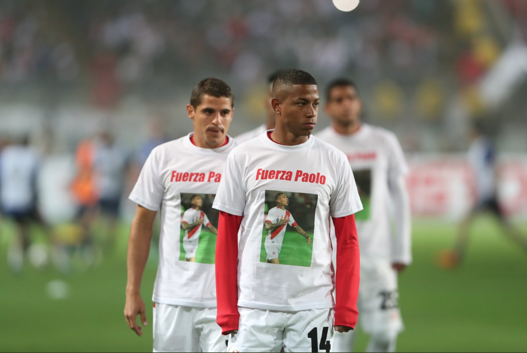 Paolo Guerrero May Not Be Playing in Russia, But He's Still the Star of Peru's World Cup Merch