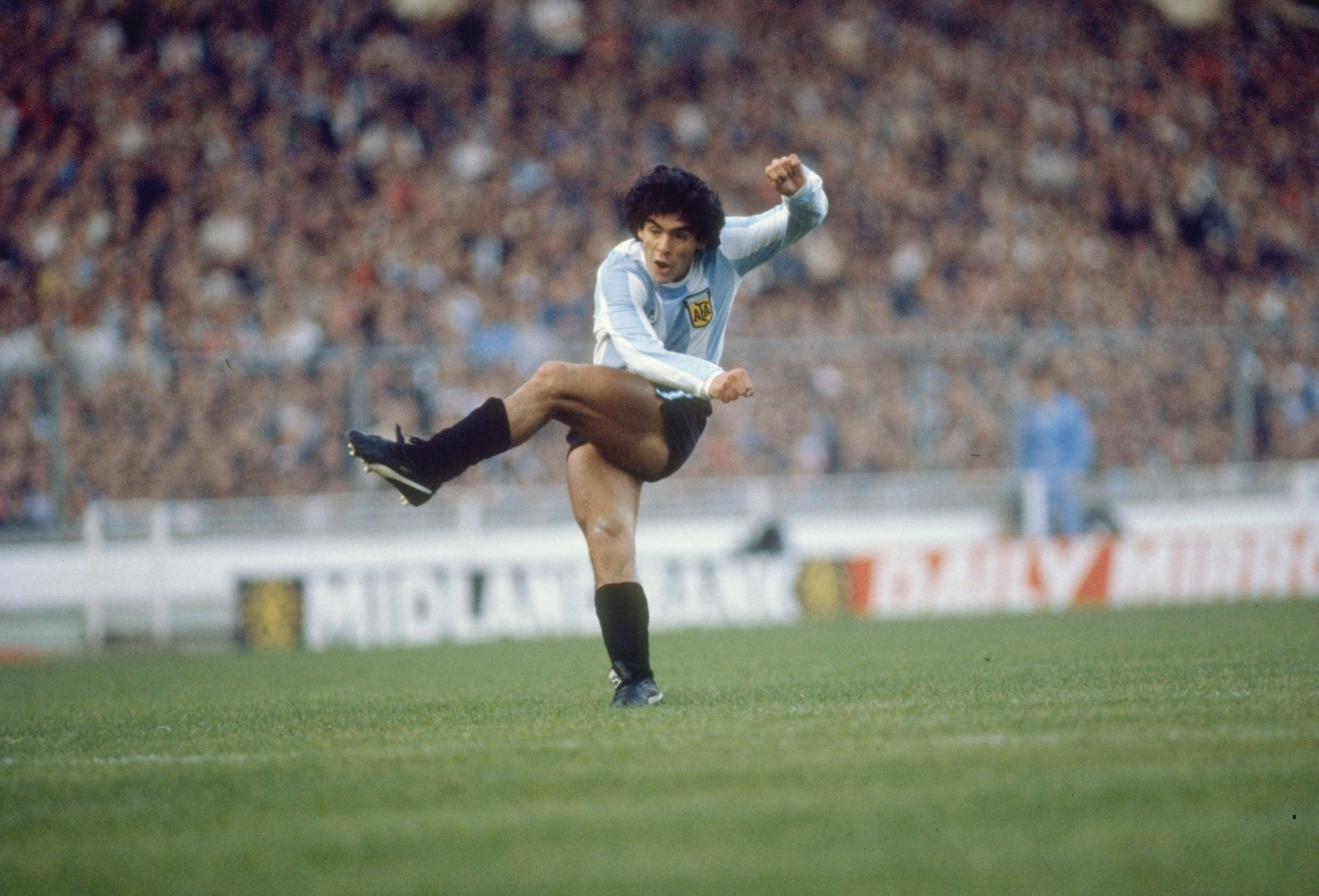 Soccer God Diego Maradona Is Getting a TV Series About His Life