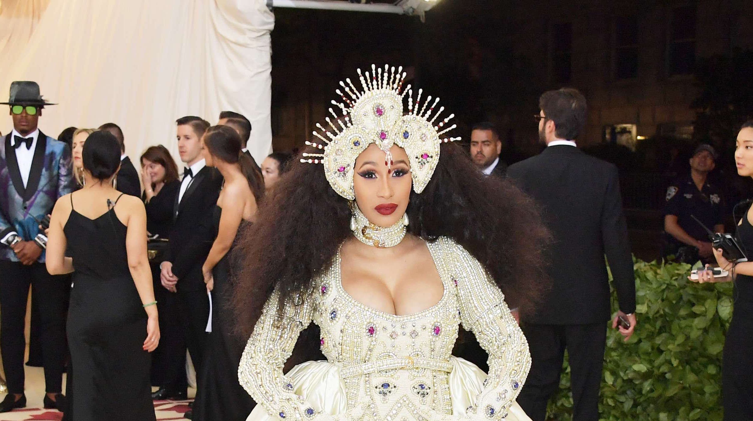 Here's Everything Cardi B Did at Her First Met Gala