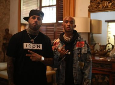 "After Linking Up in Cartagena, Jaden Smith & Nicky Jam Release Video for Bilingual ""Icon (Remix)"""