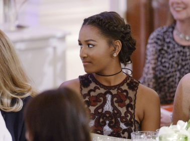 Sasha Obama Was Spotted Chilling With Cardi B & Offset This Weekend