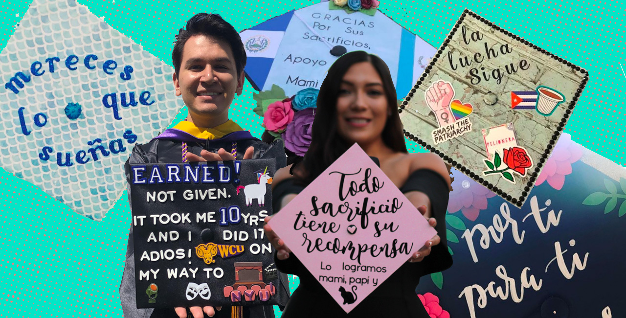 15 grad caps that pay tribute to latino parents and their