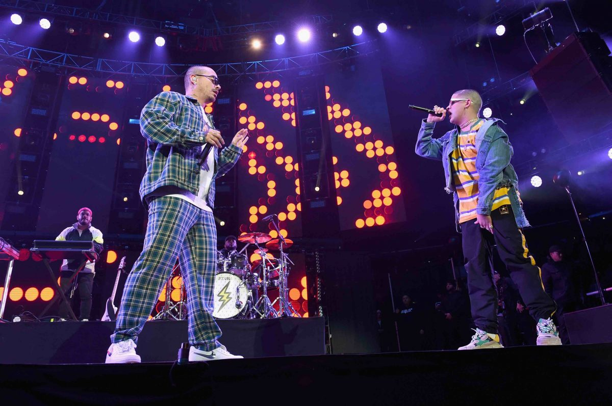 J Balvin Says a Collaborative Album With Bad Bunny Might Happen