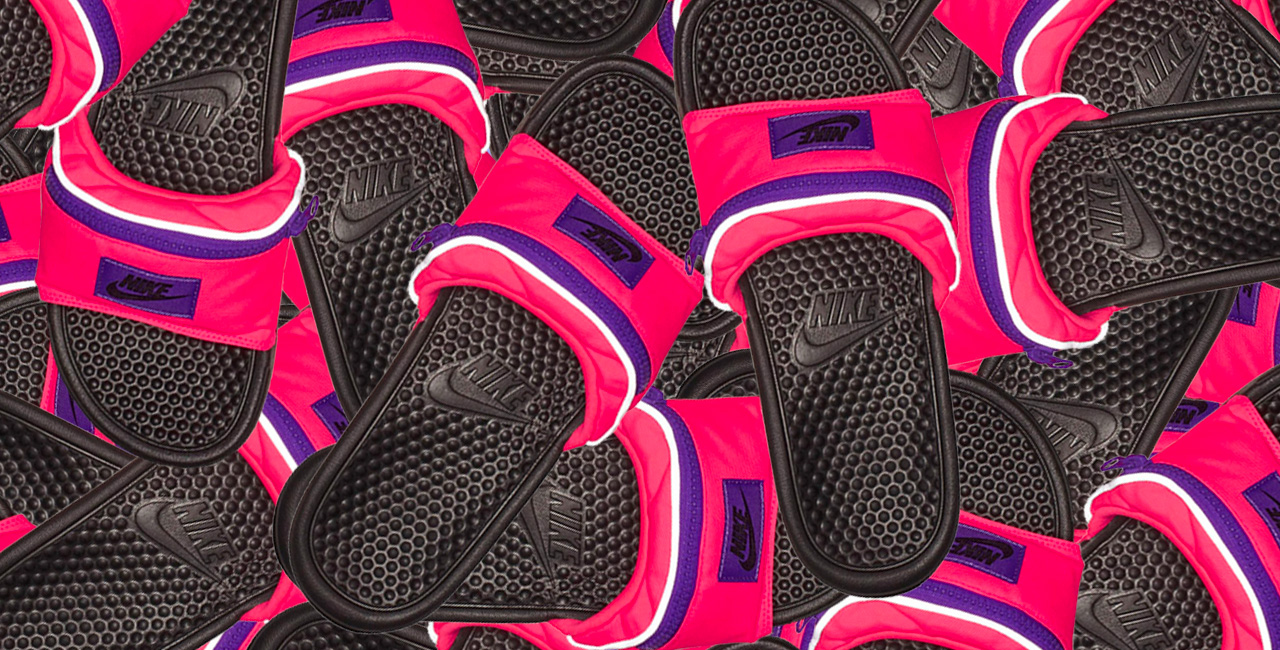 """6 Things You Can Stash In Nike's New """"Fanny Pack"""" Chanclas"""