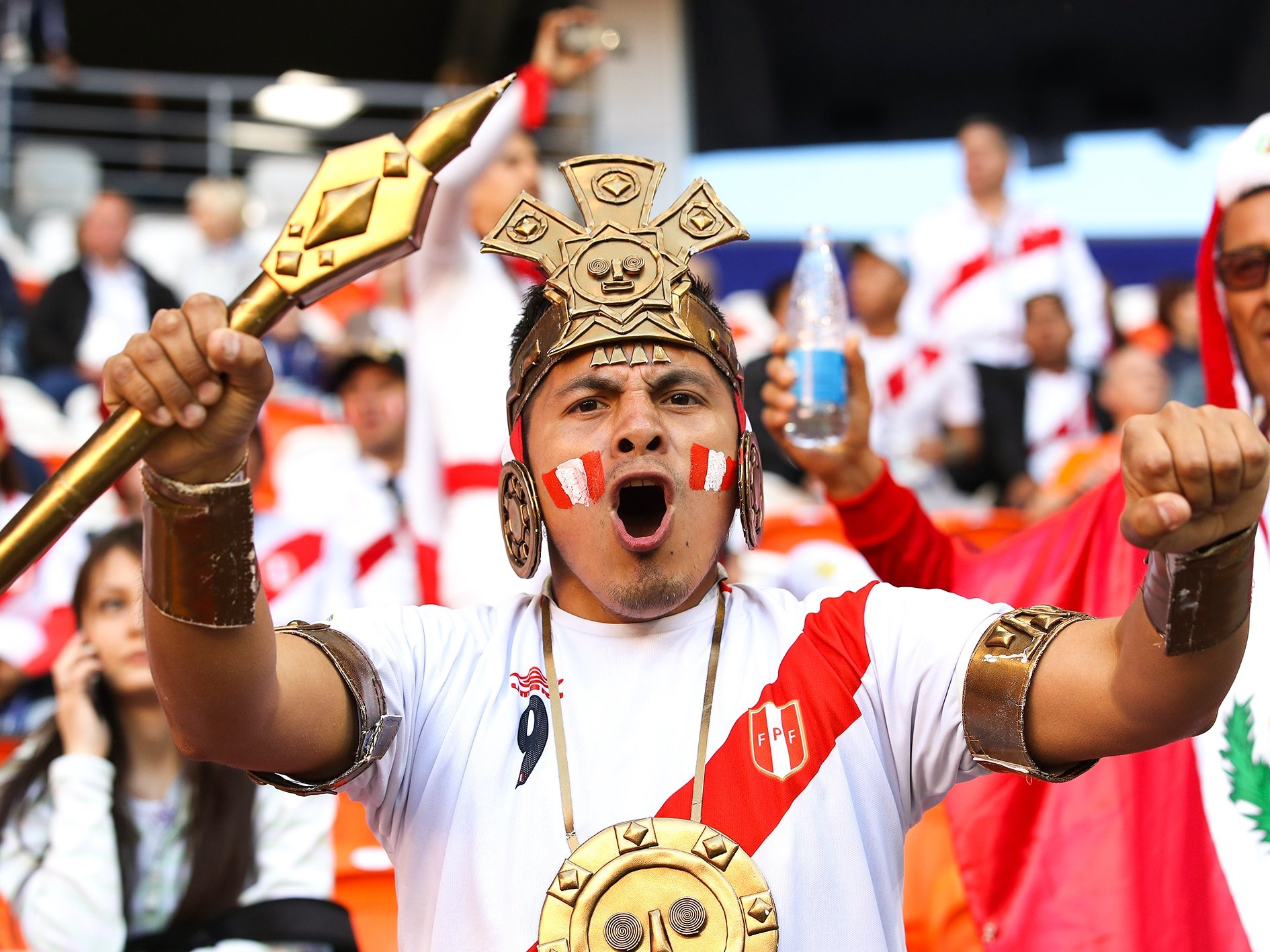 Peru  May Have Lost the Match, But it Won the World's Heart