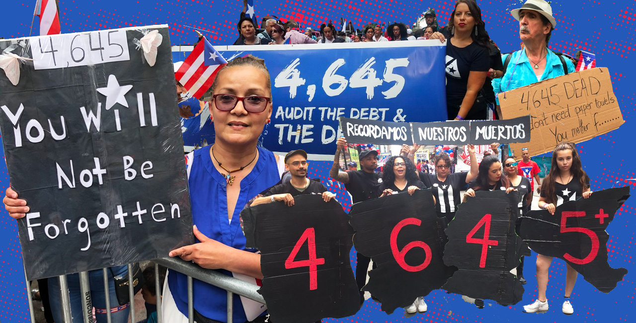 The Number 4,645 Was Everywhere at This Year's Puerto Rican Day Parade