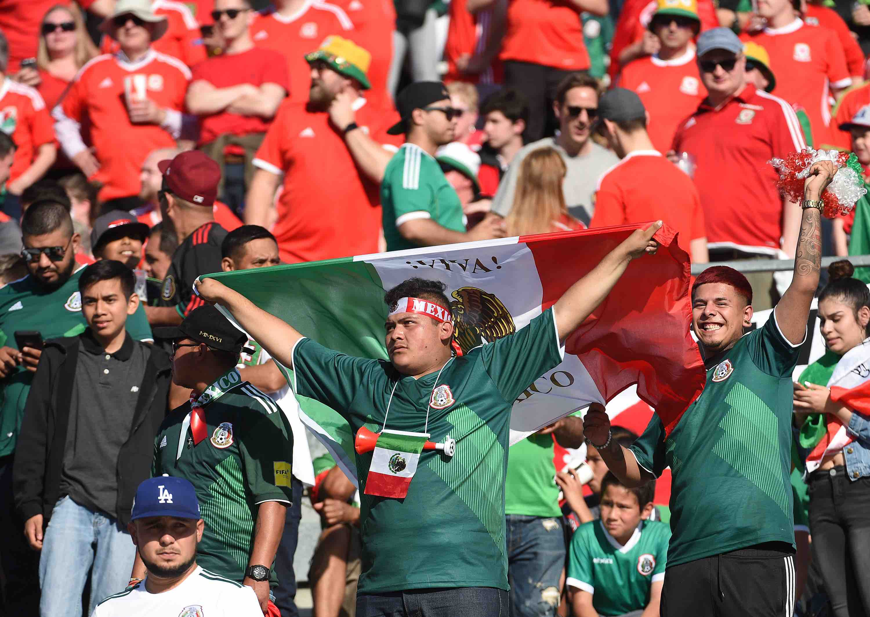 There Are More Mexican Fans at the World Cup Than Any Other Latin American Country