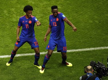 Colombia's Yerry Mina is Using his Goal-Scoring Salsa Choke Dance For a Good Cause