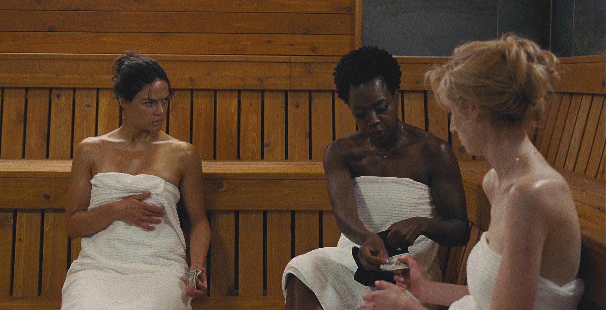 TRAILER: Michelle Rodriguez & Viola Davis Star in Action-Packed Heist Drama 'Widows'