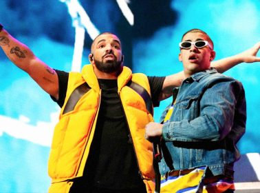 """Drake Invited Bad Bunny to Perform """"Mia"""" Live for the First Time"""