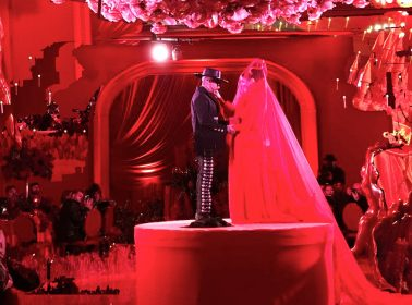 Kat Von D & Leafar Seyer Had the Most Lavish Goth Wedding of All Time