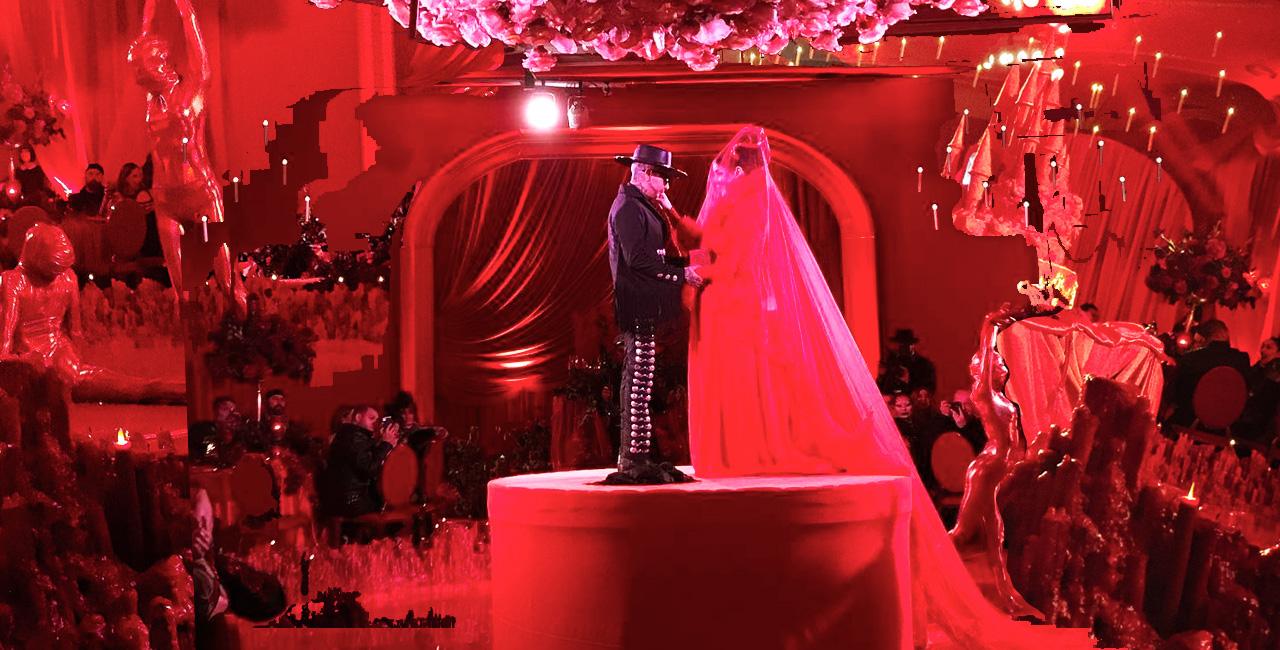 Kat Von D & Leafar Seyer Had the Most Lavish Goth Wedding of All Time
