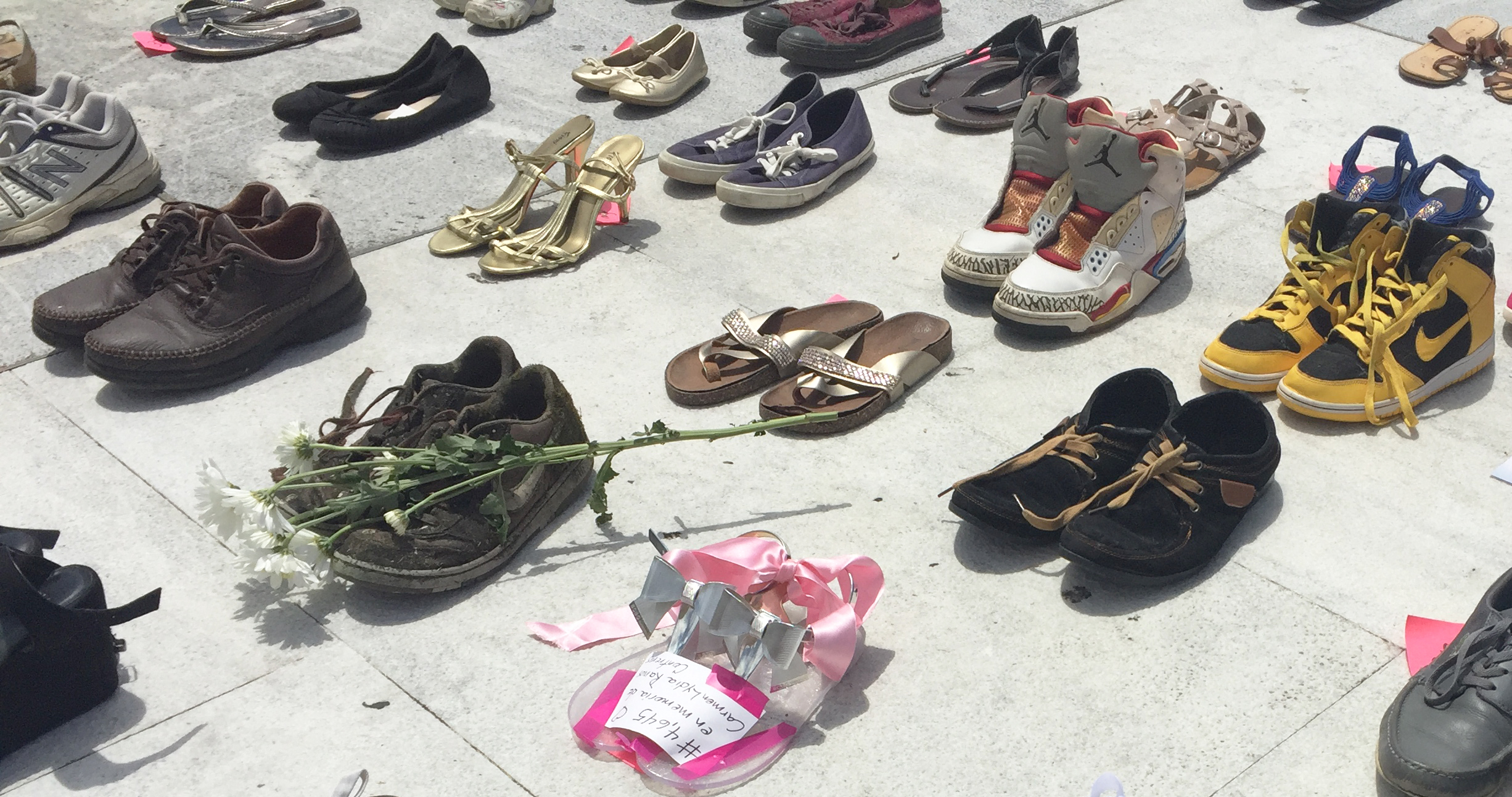 This Impromptu Memorial Is a Haunting Depiction of the Massive Amount of Hurricane Maria Victims
