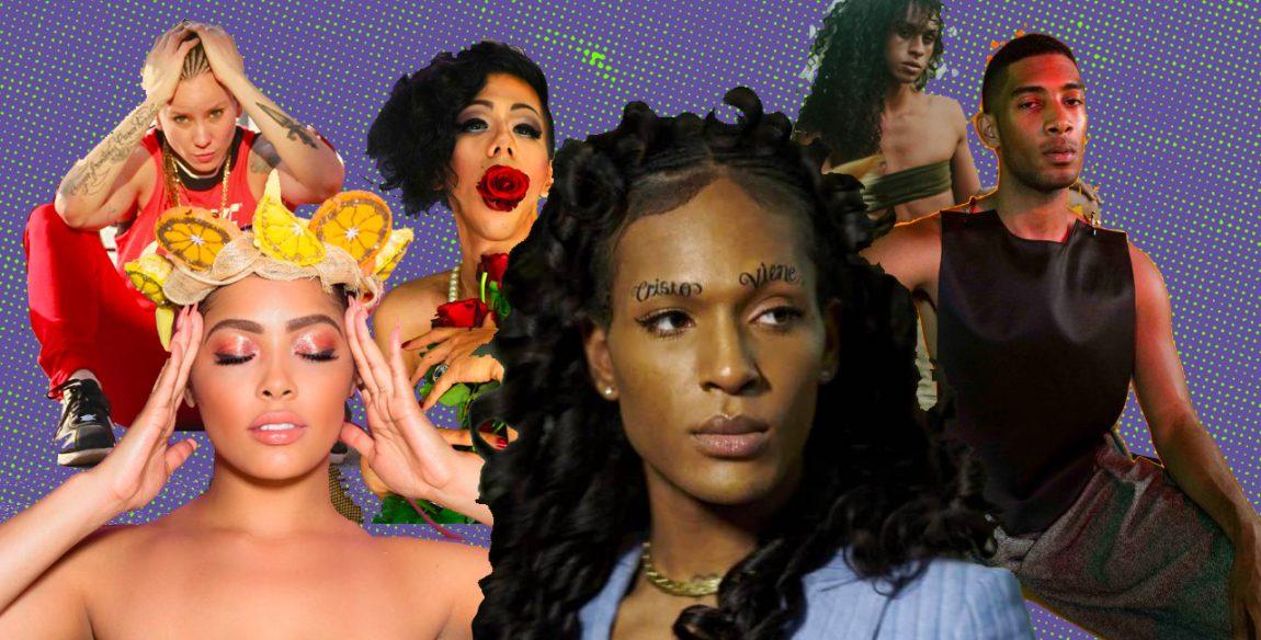 Female bisexual musicians