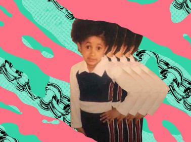 "Childhood Photo of Cardi B Becomes ""Mami Dijo"" Meme"