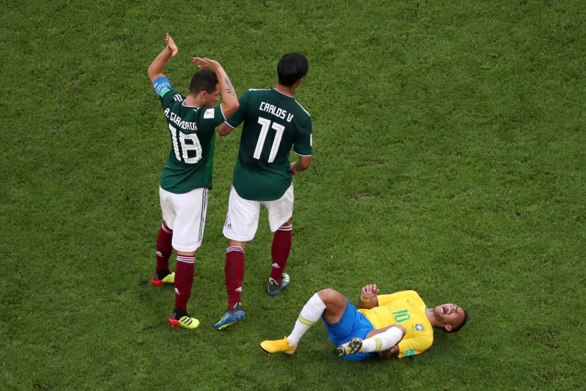 Twitter Roasts Neymar For His Over the Top Drama in World Cup Match