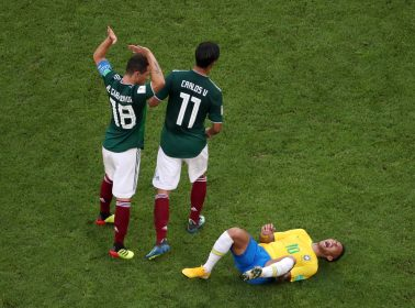 Twitter is Roasting Neymar For His Over the Top Drama in Brazil-Mexico World Cup Match