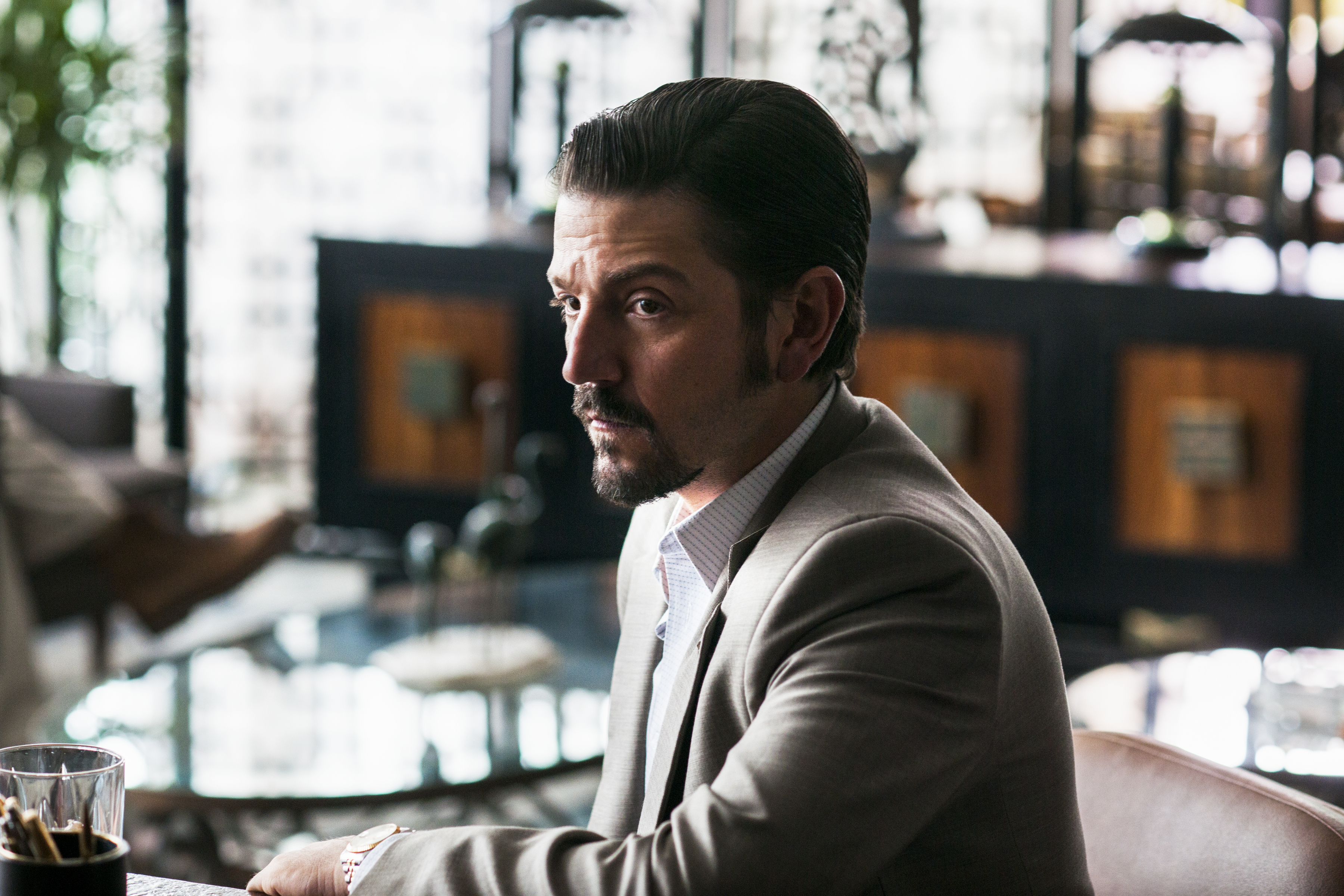 'Narcos: Mexico' Stars Diego Luna as a Founder of the Guadalajara Cartel