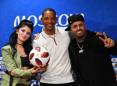 Find Someone Who Rides for You Like Nicky Jam Did for J Balvin at the World Cup Final