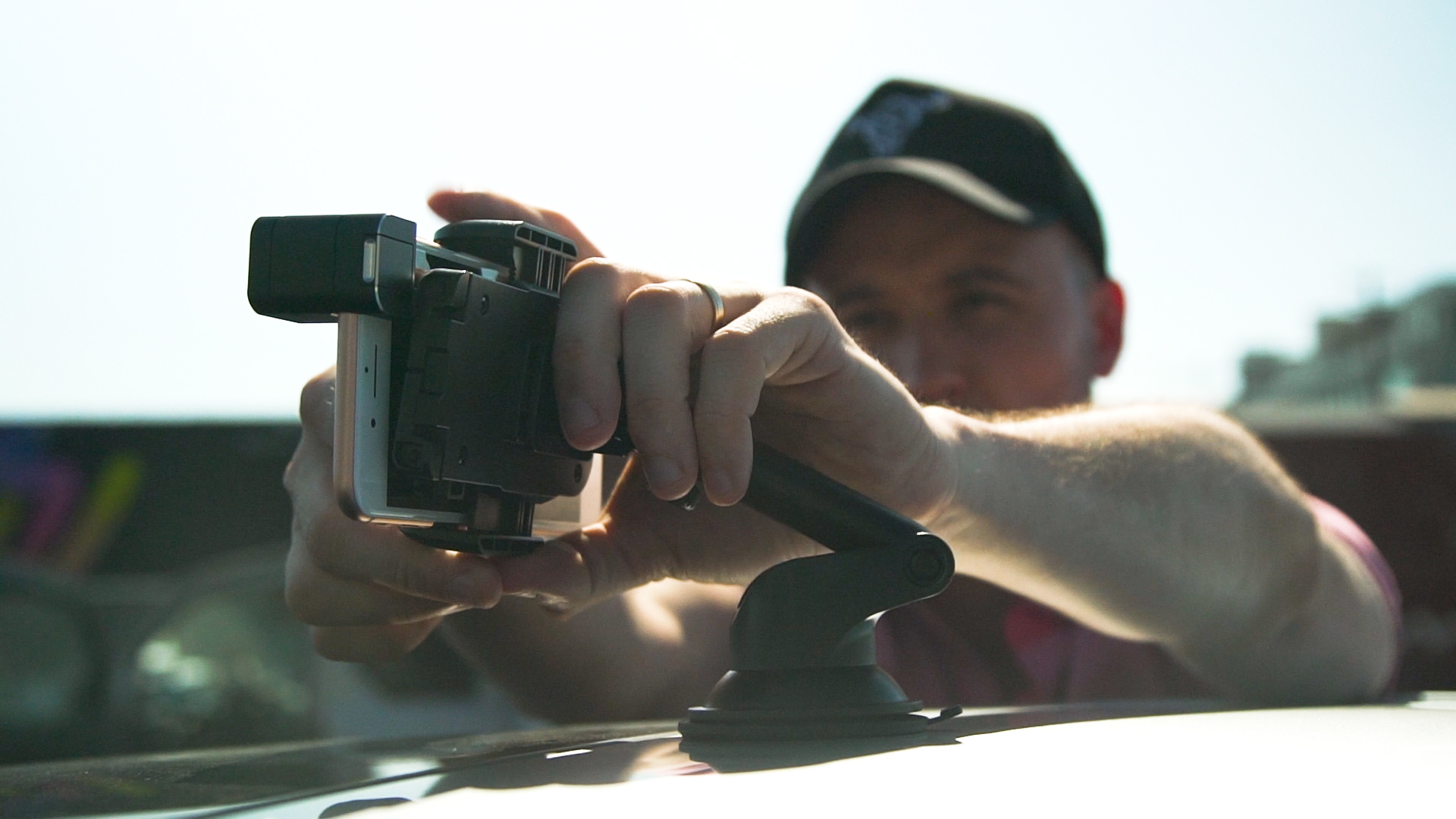 Toyota Camry Hybrid and Director Marcelo Tobar Team Up to Show You How to Shoot Car Scenes Using a Cell Phone
