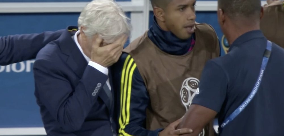 José Pékerman Was All of Colombia During the Penalty Shootout With England
