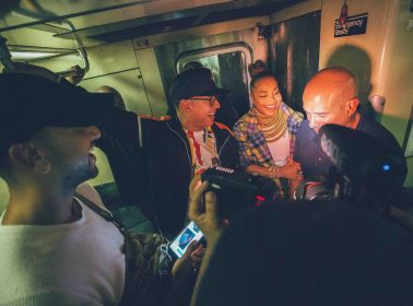 Daddy Yankee Joined Janet Jackson on Her First Subway Ride