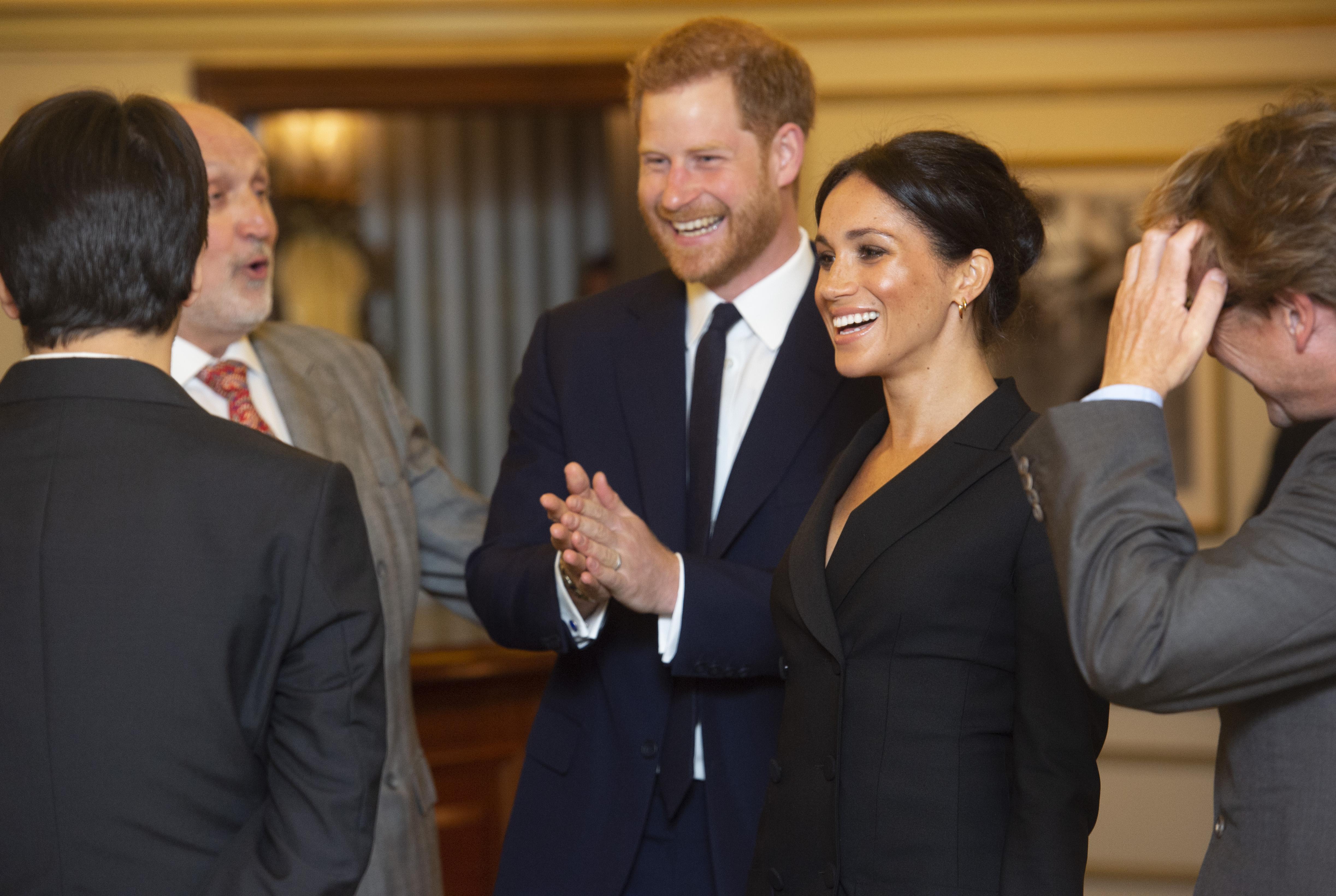 Meghan Markle and Prince Harry Join Lin-Manuel Miranda To See 'Hamilton' – Again