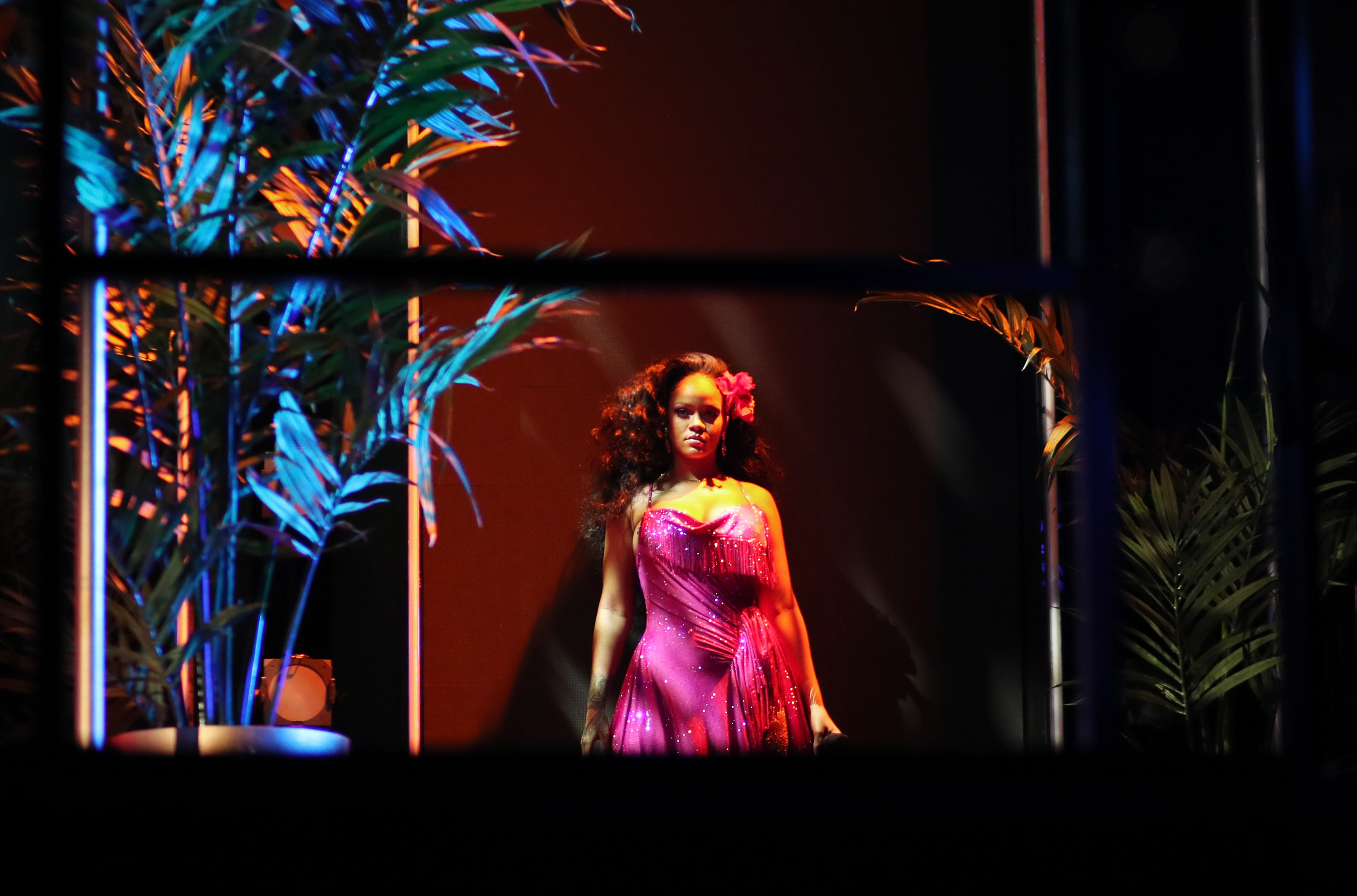 Rihanna & Childish Gambino Were Seen in Cuba Filming a Secret Project Called 'Guava Island'