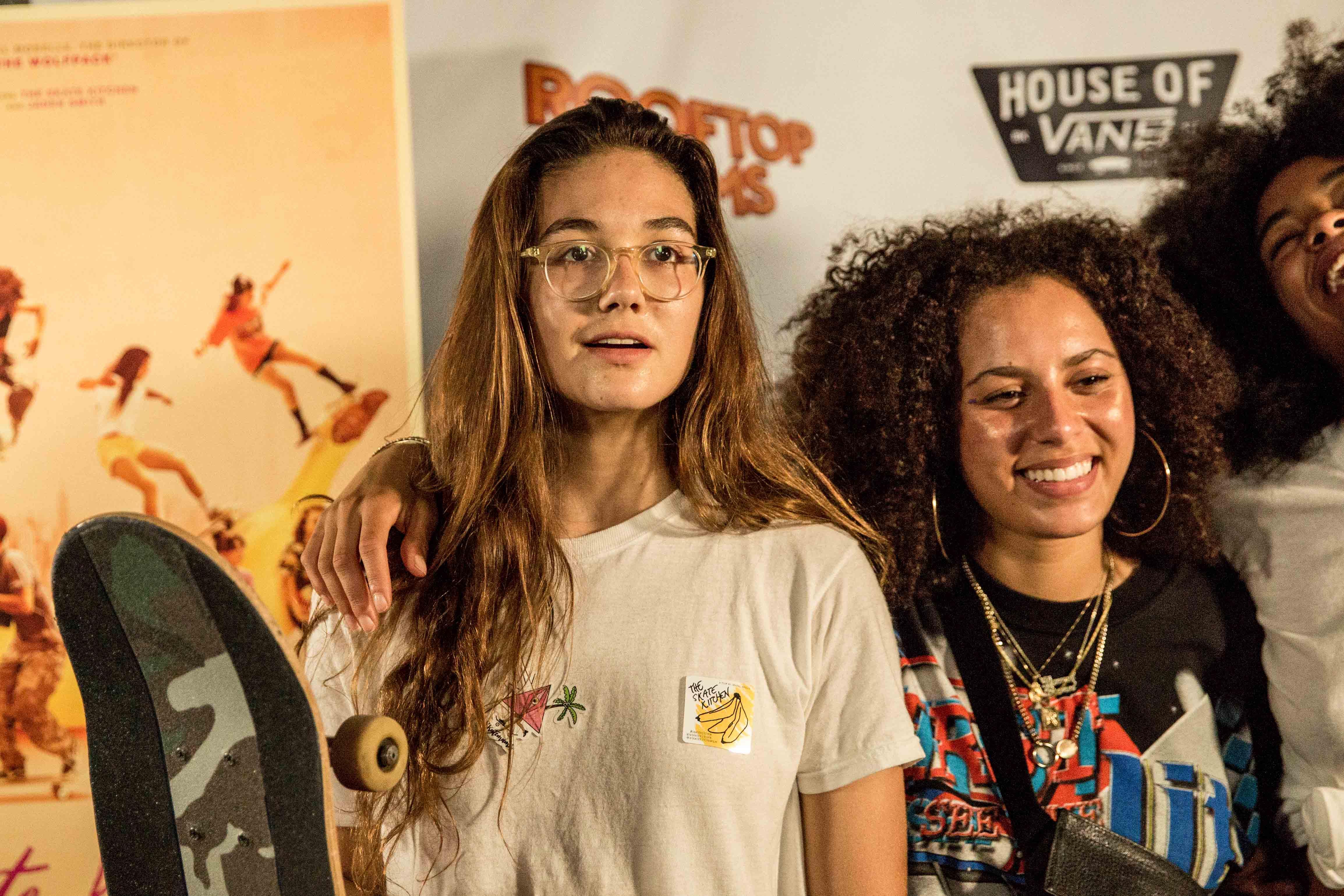 Rachelle Vinberg's Relationship With Her Strict Colombian Mom Inspired 'Skate Kitchen'