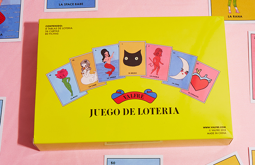 Valfré Reimagined Lotería With Empowering Female Figures