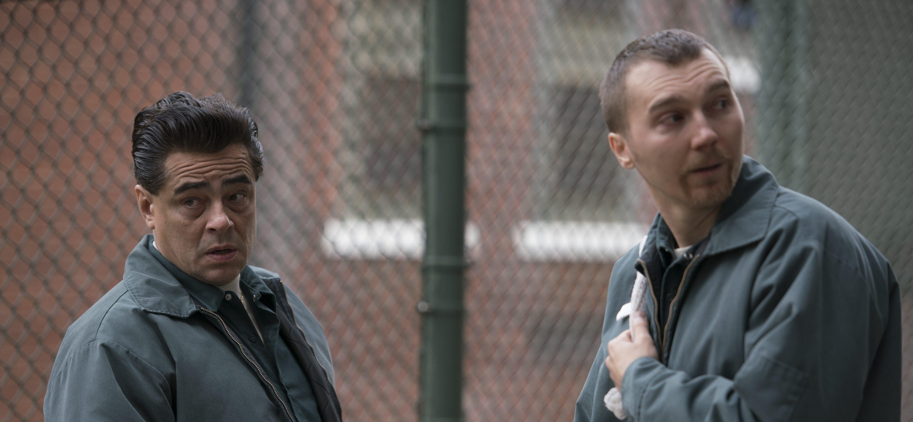 TRAILER: Benicio del Toro Stars in 'Escape from Dannemorra,' Based on Real-Life Prison Break