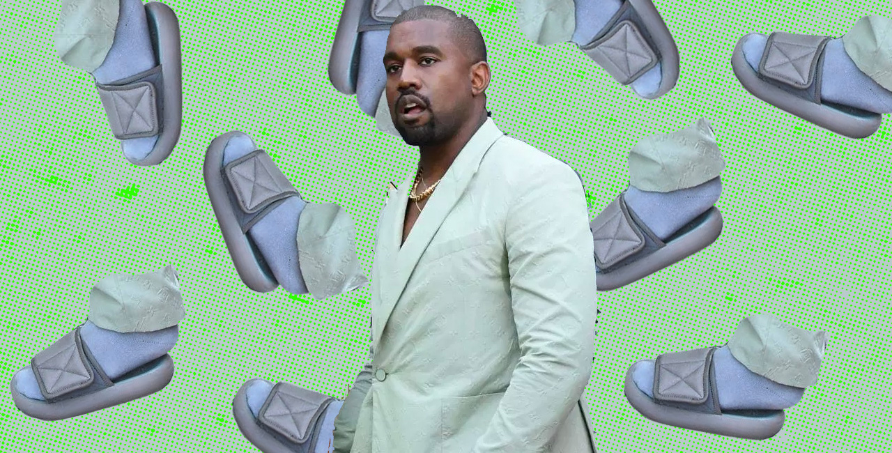 Kanye West Wore Tiny Chanclas to a Wedding & People Have a Lot of Jokes