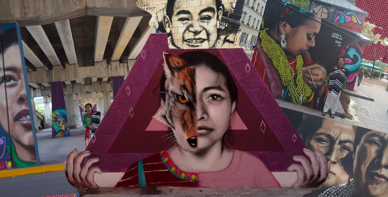 This Oaxacan Muralist Is On a Quest To Show Mexico's Indigenous Cultures In Europe