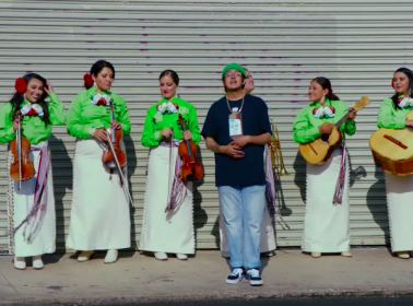 """Cuco Updated """"Amor de Siempre"""" With an All-Female Mariachi Group From Boyle Heights"""