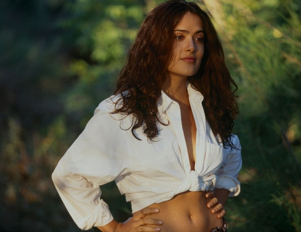 Remarkable phrase salma hayek hot young sorry, that