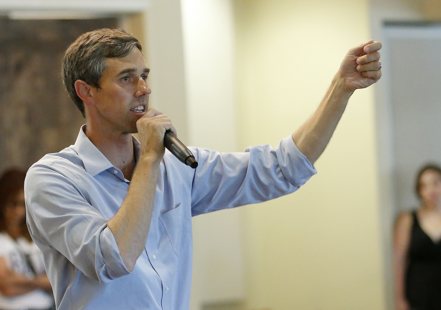 "Senate Candidate Beto O'Rourke Calls Border Wall Supporters ""Pendejos"""