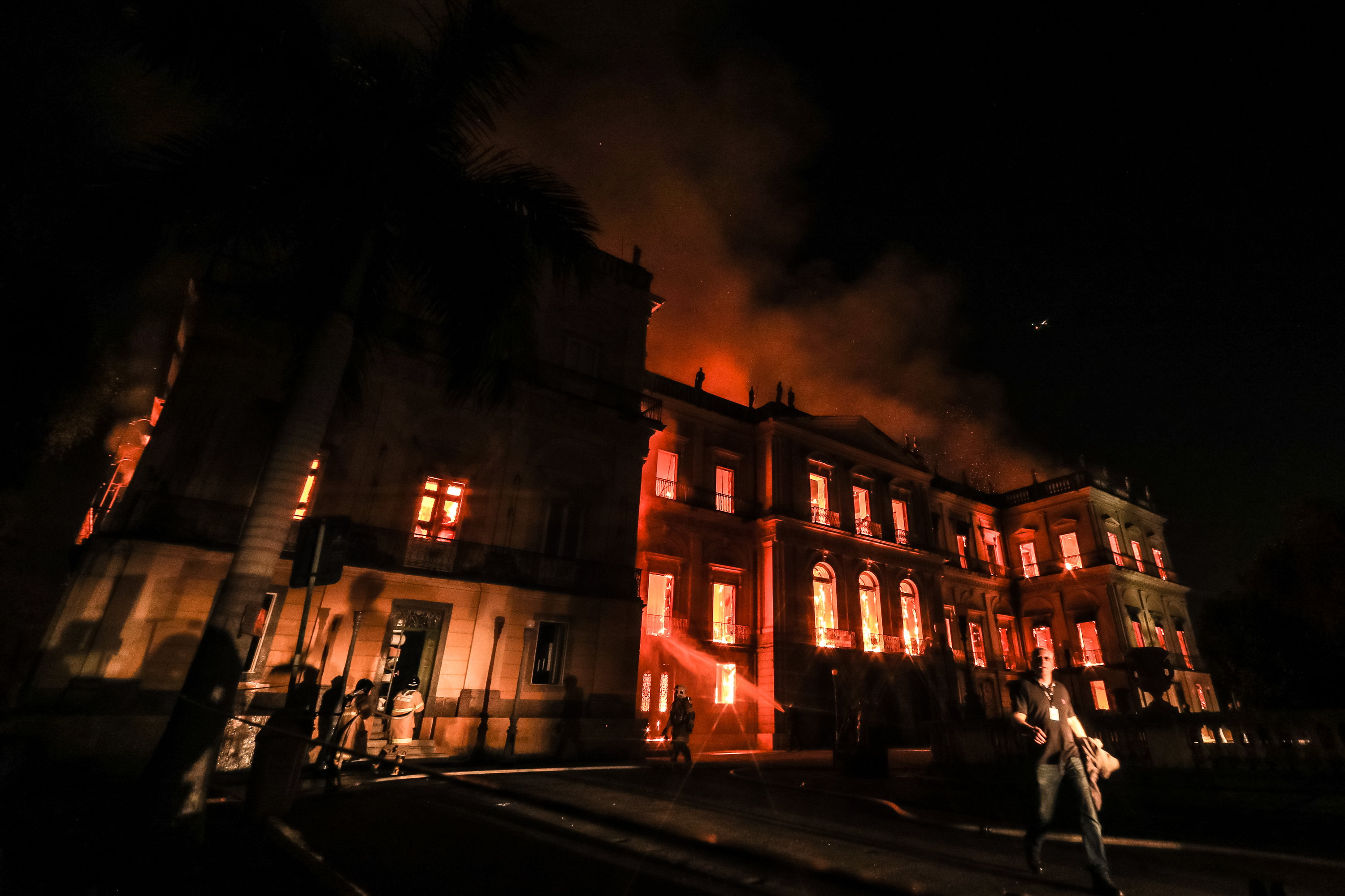 Everything We Know About the Devastating Fire Inside Brazil's National Museum